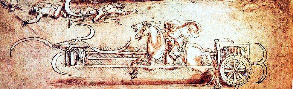 Bojowa żniwiarka Leonarda da Vinci