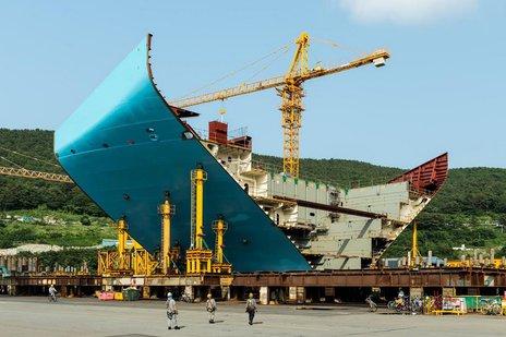 Matz Maersk Triple E / Fot. Wired