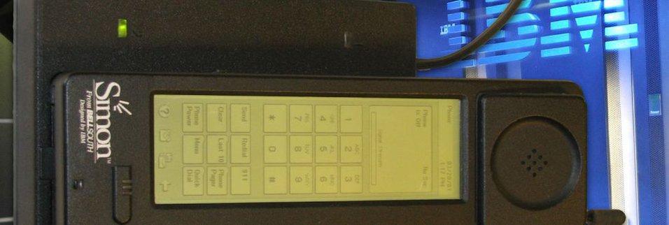 IBM Simon - pierwszy smartfon świata