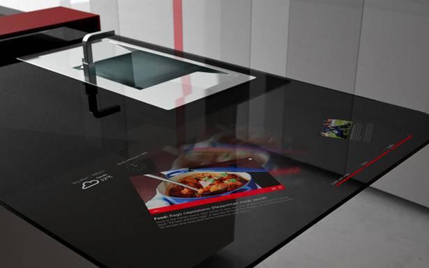 Prisma Smart Kitchen Microsoft Surface Kuchnia I Tablet W Jednym Gad