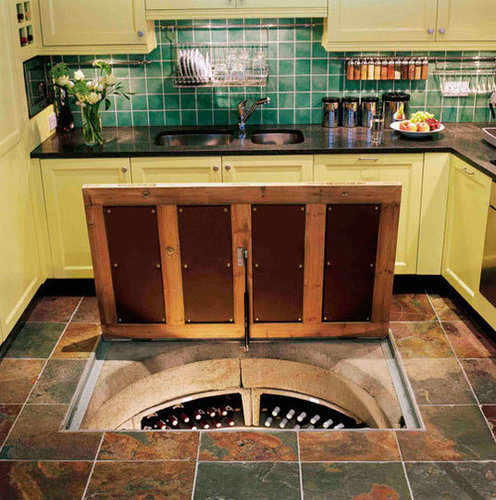Wine Cellar In Kitchen Floor Cost