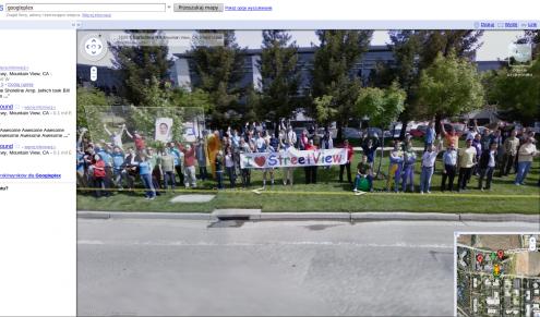 Randki zdjęć Google Street View