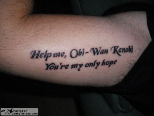 Najfajniejsze I Najdziwniejsze Geekowskie Tatuaże
