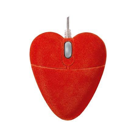 Myszka komputerowa w kształcie serca || Prezent na Walentynki